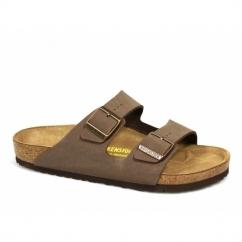 ARIZONA Unisex Buckle Sandals Mocca Brown