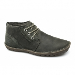 LEROY MID Mens Leather Lace-Up Chukka Boots Liège