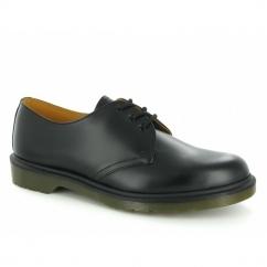 1461 Unisex Classic 3 Eyelet Uniform Shoes Black