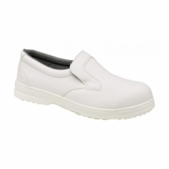 FS52 Unisex S1 SRC Hygiene Safety Shoes White