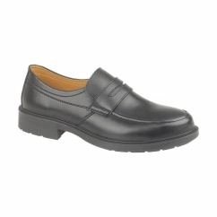 FS46 Mens S1 SRC Office Safety Shoes Black