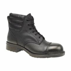 FS2SM Mens SB P HRO External Capped Safety Boots Black