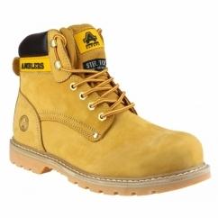 FS156 Unisex SB Safety Boots Honey
