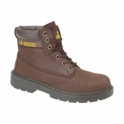 FS113 Unisex S1-P Safety Boots Brown