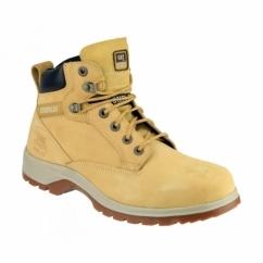 KITSON Ladies Heat Resistant Anti Slip Safety Boots Honey