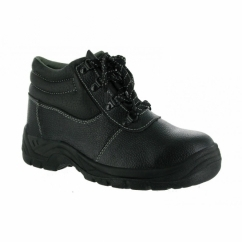 FS330 Unisex Safety Lace-Up Boots Black