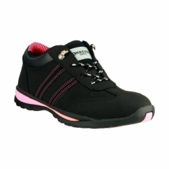 FS47 Ladies S1 P HRO SRC Safety Trainers Black