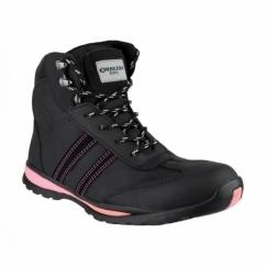 FS48 Unisex S1 P HRO SRC Safety Boots Black