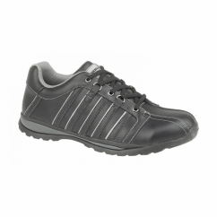 FS50 Unisex S1 HRO Steel Safety Trainers Black