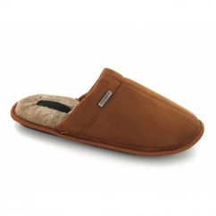 Classic Men's Mule Slippers Tan