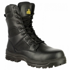 FS008 Mens S3 Safety Boots Black