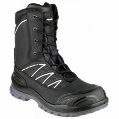 MAGELLAN Mens Steel S3 HRO SRC W/P Safety Boots Black
