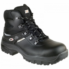 SAMURAI 805 Unisex Leather S3 SRC Safety Boots Black