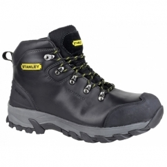 KINGSTON Mens Steel S3 SRA P Safety Boots Black