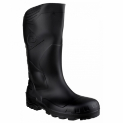 DEVON Unisex Steel S5 SRA Safety Wellington Boots Black