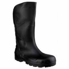 DEVON Unisex Steel S5 SRA Safety Wellington Boots Black