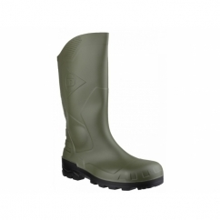 DEVON Unisex Steel S5 SRA Safety Wellington Boots Green