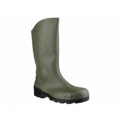 DEVON Unisex Steel S5 SRA Safety Wellington Boots Green