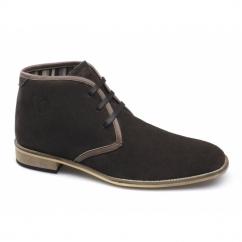 ALDRIC Mens Suede Chukka Boots Brown