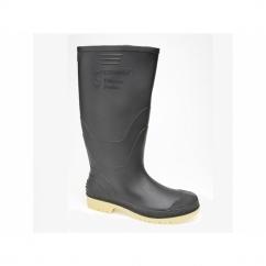 ADMINISTRATOR Mens Gents Wellington Boots Black