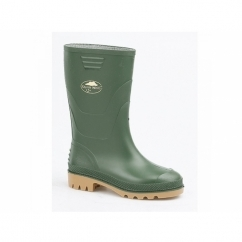 SPLASH Kids Junior PVC Wellington Boots Green