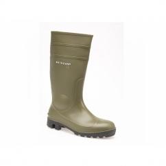 PROTOMASTOR Unisex S5 SRA Safety Wellington Boots Green