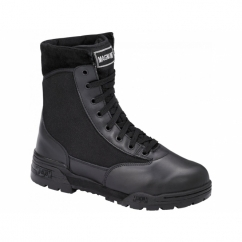 CLASSIC Unisex Non-Safety SRA Leather Military Boots Black