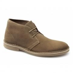 SEL SHLEON H Mens Suede Desert Boots Tan