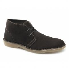 SEL SHLEON H Mens Suede Desert Boots Demitasse