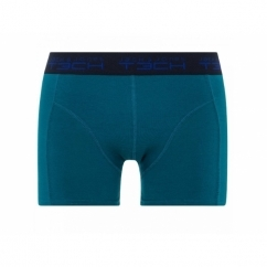 JJKICK Mens Cotton Boxer Shorts Lyons Blue