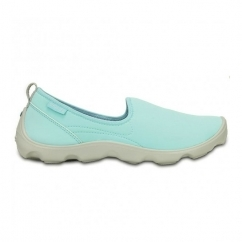 DUET BUSY DAY SKIMMER Ladies Walking Trainers Blue/White