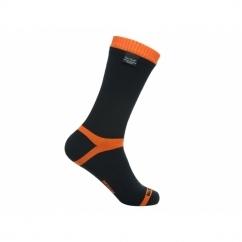 HYTHERM PRO Unisex Mid Calf Waterproof Socks Black/Orange