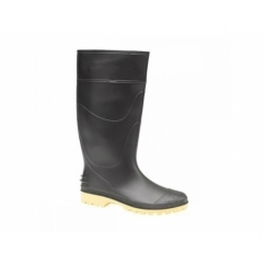 PRICEBUSTER Mens Wellington Boots Black