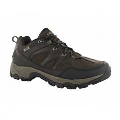 ALTITUDE TREK LOW i Mens Waterproof Walking Shoes Dark Chocolate