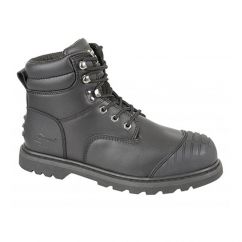 PROTECTOR Unisex S1 HRO SRA Safety Boots Black