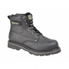 GLADIATOR Unisex SB HRO E SRA Safety Boots Black