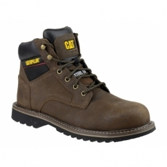 ELECTRIC 6'' Mens Safety Boots Brown