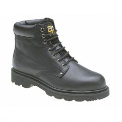 KNIGHT Mens SB SRC Safety Boots Black