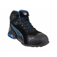 RIO MID 632250 Mens Aluminium Safety Boots Black