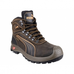 SIERRA NEVADA MID 630220 Mens Mid Safety Boots Brown