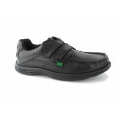 REASAN STRAP Mens Leather Shoes Black