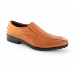 BRENNER Mens Slip On Shoes Tan