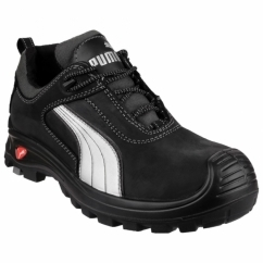 CASCADE LOW 640720 Mens Leather Safety Shoes Black