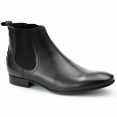 LUCAS Mens Dealer Boots Black