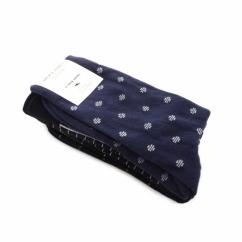 JJ DARK Mens Cotton Socks 4 Pack Black/Navy Blazer