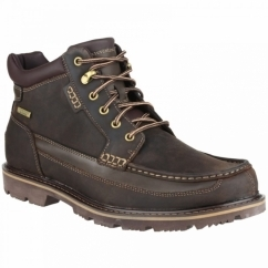GB MOC MID WP Mens Leather Lace-Up Boot Brown