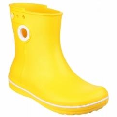 CROCBAND JAUNT SHORTY Ladies Short Wellington Boots Yellow