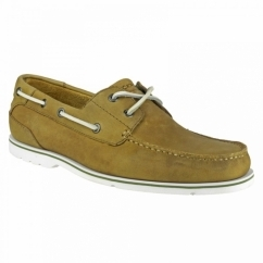 SUMMER TOUR 2 EYE Mens Boat Shoes Golden