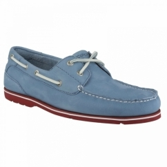 SUMMER TOUR 2 EYE Mens Boat Shoes Light Blue