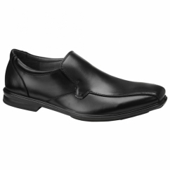 THEO GRAVITY IIV Mens Leather Loafer Shoes Black